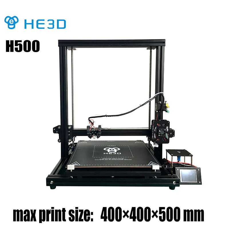 He3D H500 3D printer kit-end stop filament