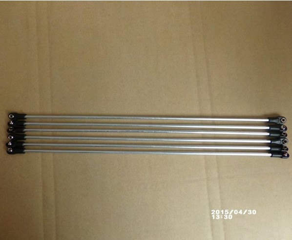 Free shipping 350 mm Aluminum alloy tube for Completely assemble