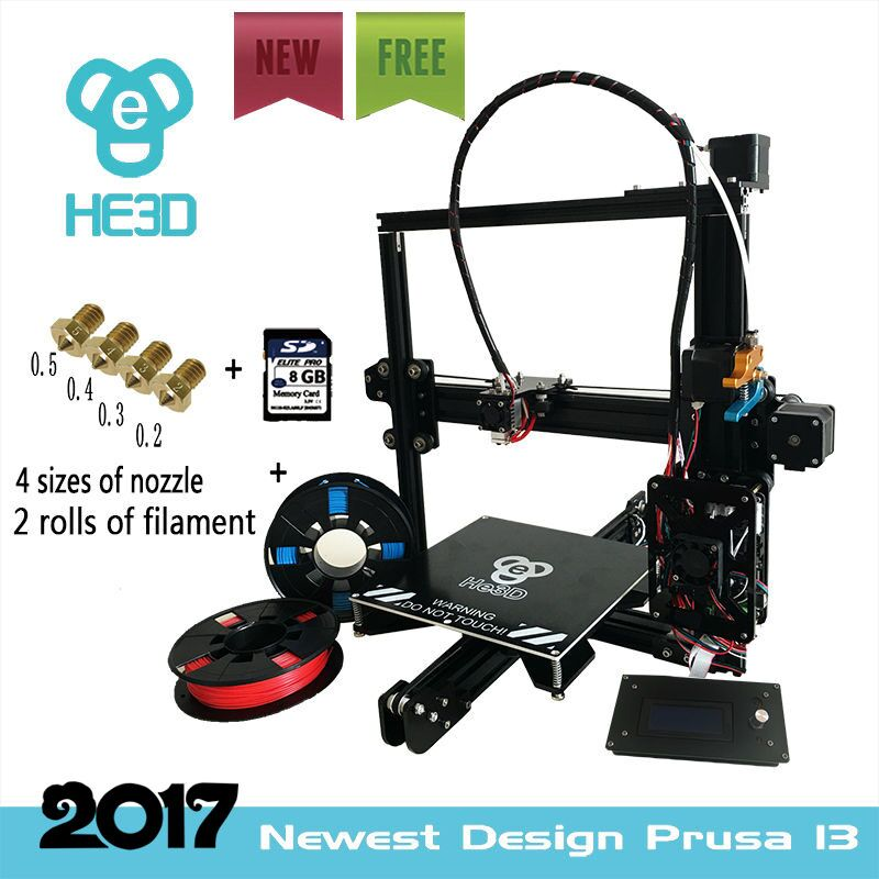 he3d prusa EI3 single 3D printer kit-Multi material