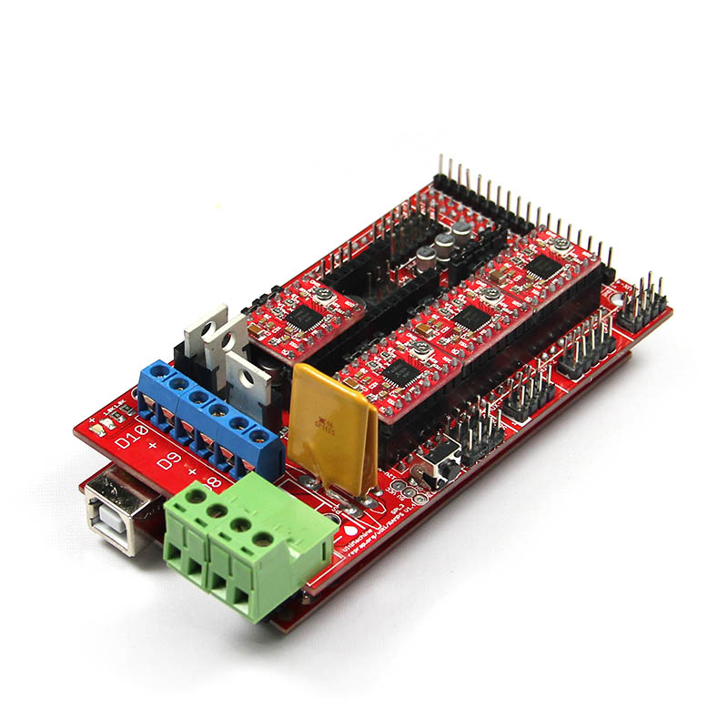 Free shipping Fully Completed Assembly RAMPS1.4 Controller Board