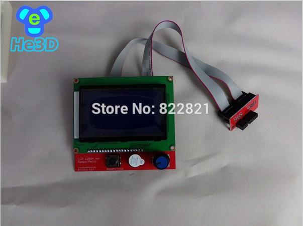 Free shipping melzi LCD 12864 To upgrade the LCD