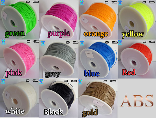 3D Printer Filament ABS material 1kg